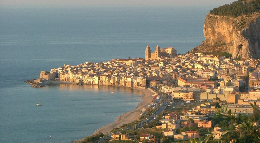 Cefalu panoramic view