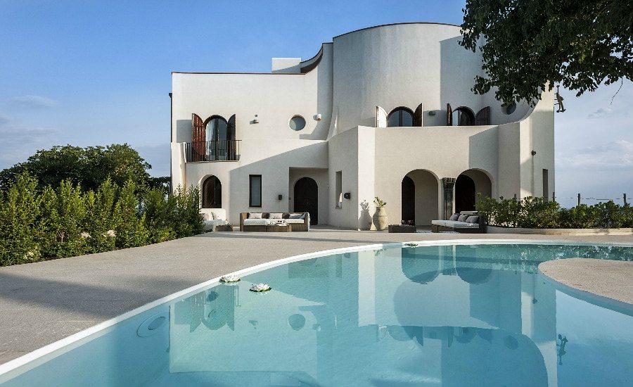 Modern Seafront Villa With Pool In Taormina Villa Marina