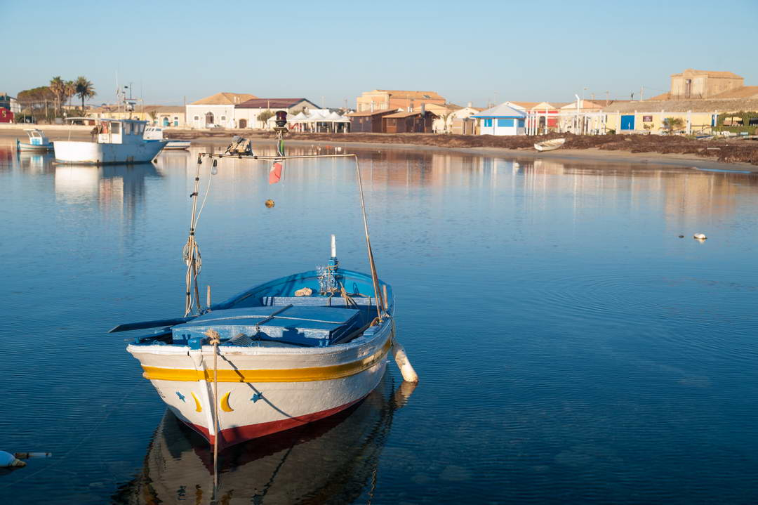 Marzamemi Fishing Village