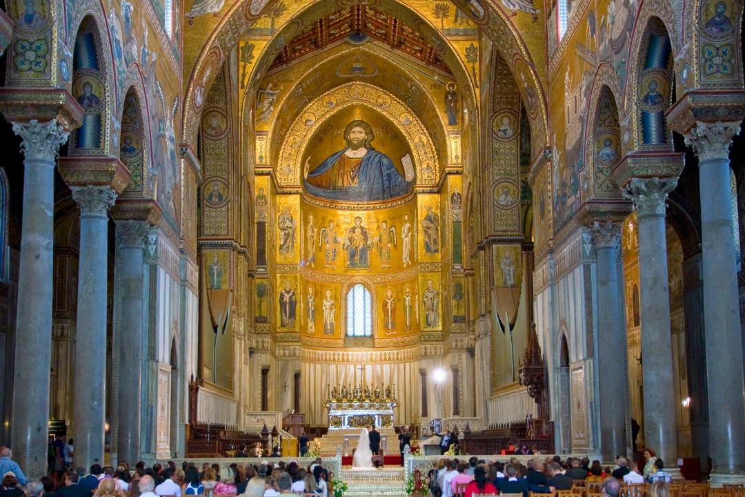 Interior Of Duomo Di Monreale