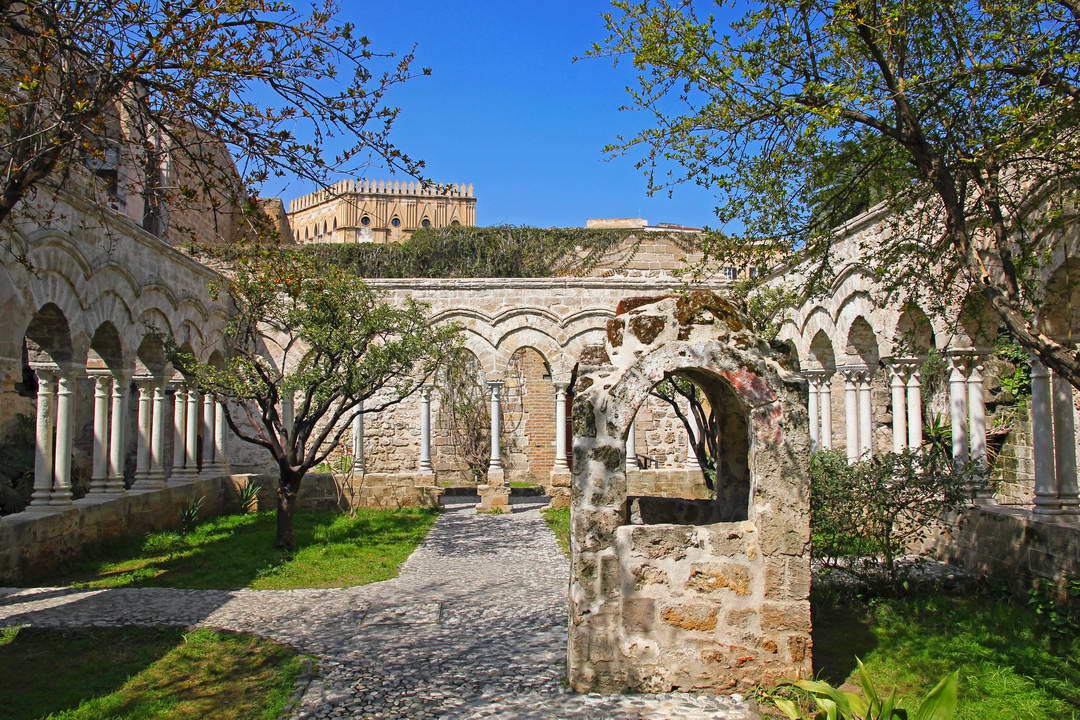 San Giovanni degli Eremiti cloister
