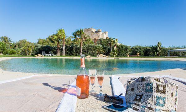Castello di Falconara pool