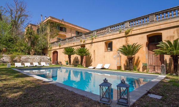 Villa In Palermo With Garden And Pool Foresteria Bordonaro