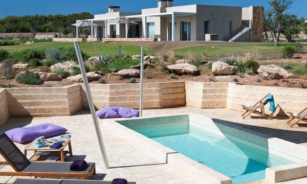 Villa Aegusa pool