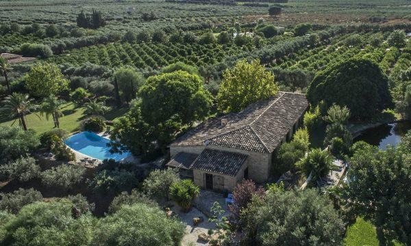 Villa Antica Scuderia drone view