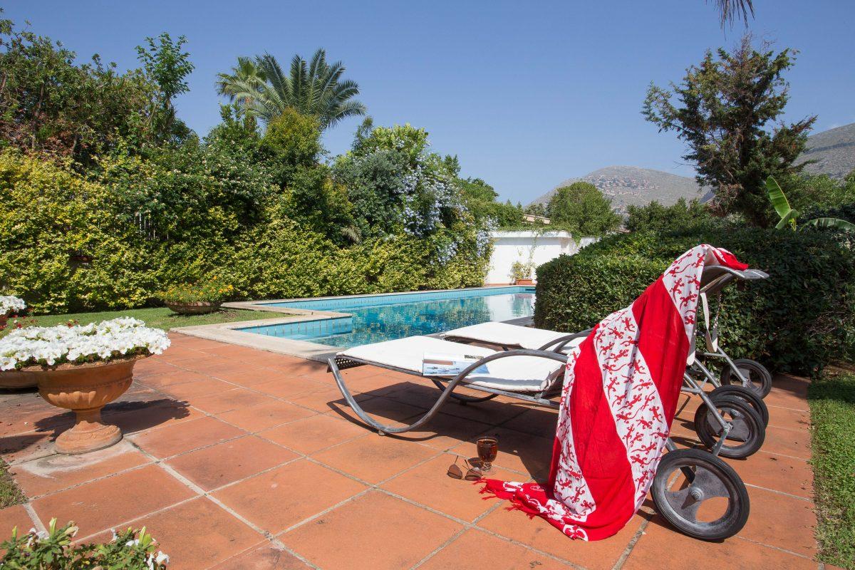 Villa With Pool In Walking Distance Of Mondello S Beach